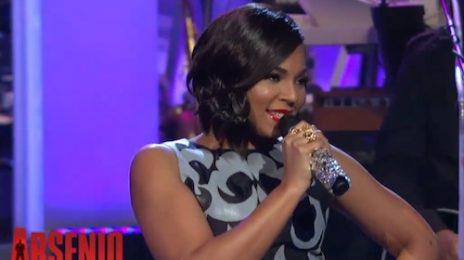 Watch: Ashanti Performs 'Let It Snow' On 'Arsenio' / Talks New Music & Nelly