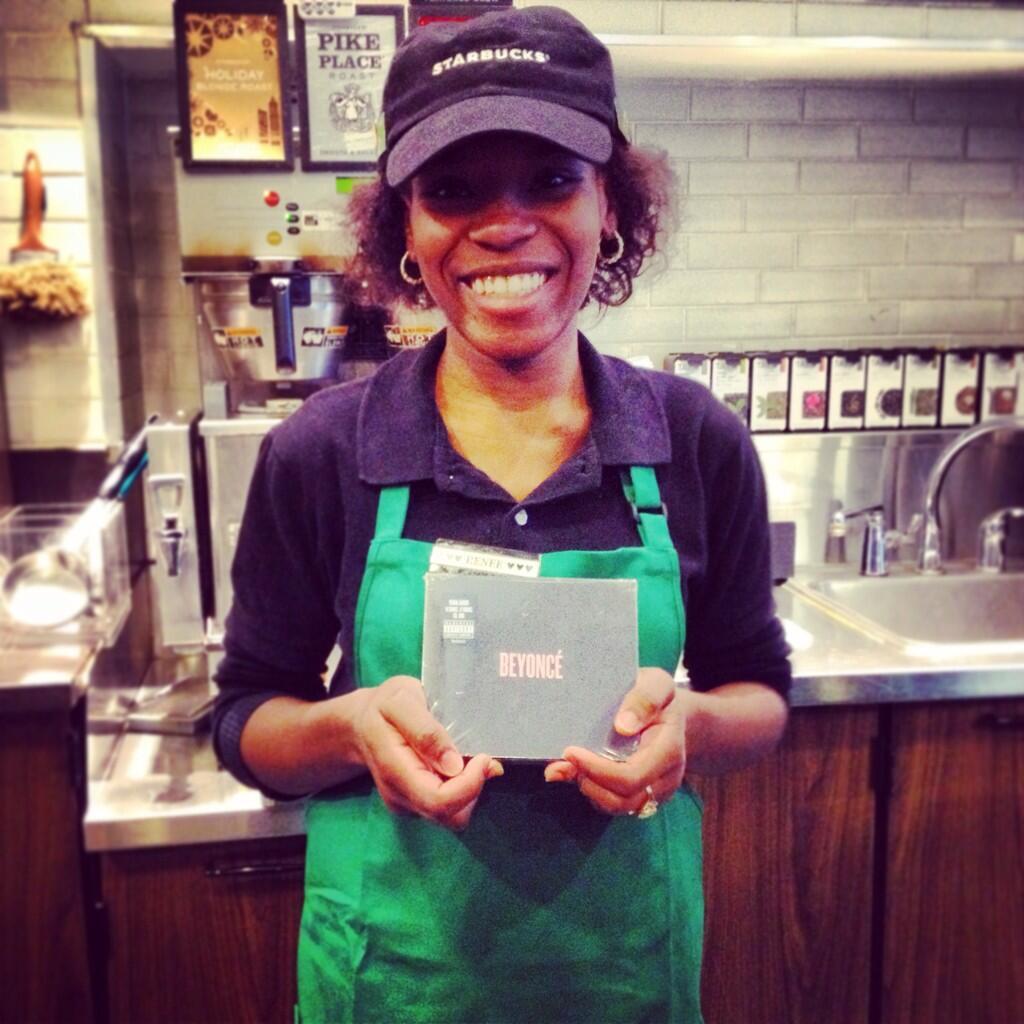 beyonce starbucks that grape juice  Starbucks Stock 7,000 Stores With New Beyonce Album