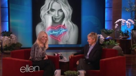 Watch: Britney Spears Visits Ellen / Finally Promotes New Album