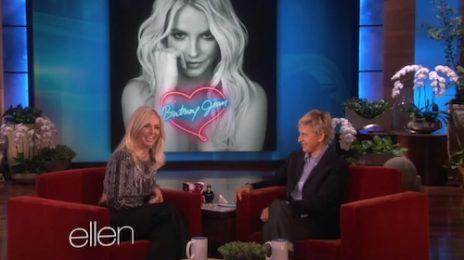 Watch: Britney Spears Visits Ellen / Finally Promotes New Album