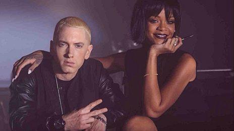 Chart Check [Hot 100]:  Eminem & Rihanna Reign, Christina Aguilera Gains