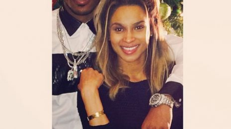 Hot Shot: Ciara & Future Share Festive Fun With Fans