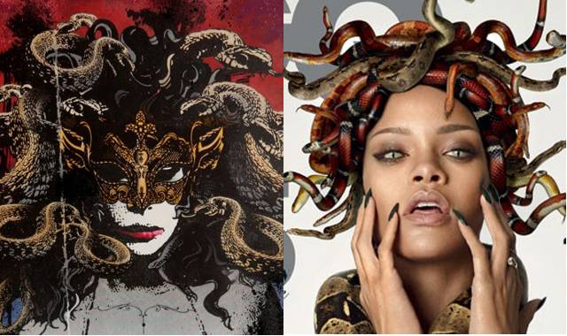 jim starr rihanna damien hurst that grape juice Rihanna Embroiled In New Plagiarism Row Following GQ Spread