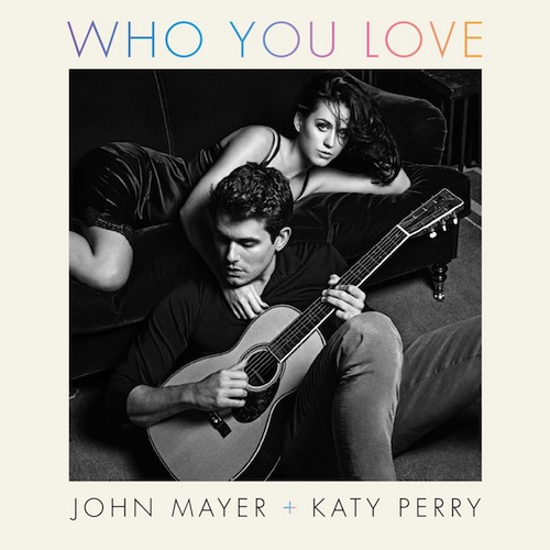 john mayer katy perry who you love artwork.sl .7.john mayer katy perry who you love album cover Hot Shots:  Katy Perry & John Mayer Unveil Who You Love Cover & More Snaps