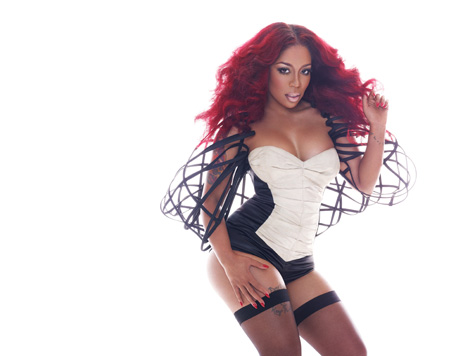 k michelle that grape juice she is diva 12pg K.Michelle Readies Still No F***s Given Mixtape