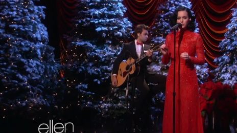 Watch: Katy Perry Performs 'Unconditionally' On 'Ellen'