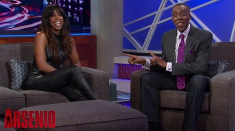 Watch: Kelly Rowland Visits 'Arsenio Hall' / Talks 'X Factor', Having Her Own Path & Not Beyonce's, & Engagement