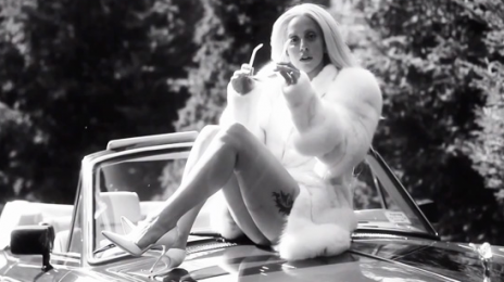 Hot Shot: Lady GaGa 'Rides' R.Kelly In 'Do What U Want' Video