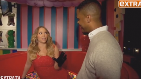 Mariah Carey Dishes On Festive Fun With 'Extra TV' At 'Dylan's Candy Bar'