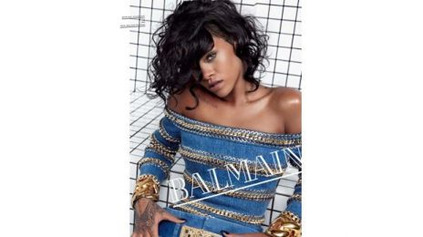 Winning: Rihanna Becomes Face Of Balmain