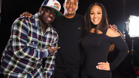 Hot Shots:  Erica Campbell Shoots 'Help' Video With Lecrae