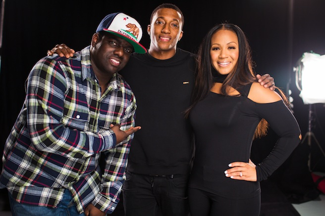 EC Warryn Lecrae1 Hot Shots:  Erica Campbell Shoots Help Video With Lecrae