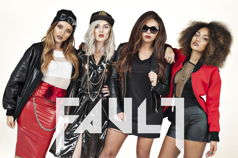 Little Mix FAULT Magazine Issue 17 Full Band web Hot Shots: Little Mixs Fierce Fault Photoshoot