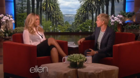 Watch: Ellen DeGeneres Interviews...Tamar Braxton