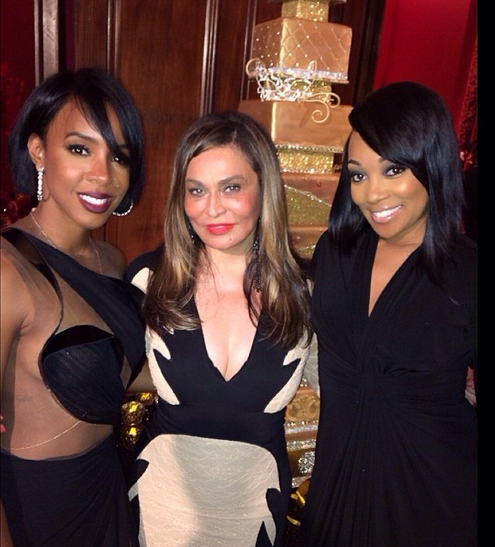 Screen shot 2014 01 11 at 11.57.02 PM Hot Shots:  Monica & Kelly Rowland Pose With...Tina Knowles