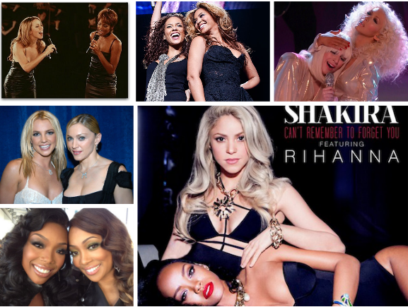 Screen shot 2014 01 13 at 4.31.16 PM Weigh In:  How Does Shakira & Rihannas New Tune Stack Up Against Other Famous Diva Duets?