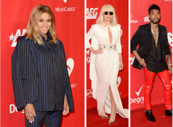 Screen shot 2014 01 25 at 10.17.51 PM Hot Shots:  Lady Gaga, Alicia Keys, & Ciara Shine At MusiCares Gala