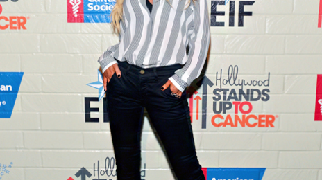 Hot Shot:  Christina Aguilera Shows Off Slim Figure At 'Stand Up To Cancer'