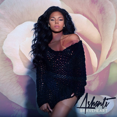ashanti braveheart thatgrapejuice Hot Shots:  Ashanti Shares BraveHeart Cover Art With Stunning New Photoshoot