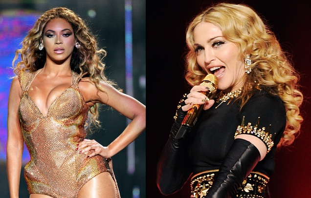 beyonce madonna grammys Report: Beyonce & Madonna Lined Up As Surprise Grammy Performers