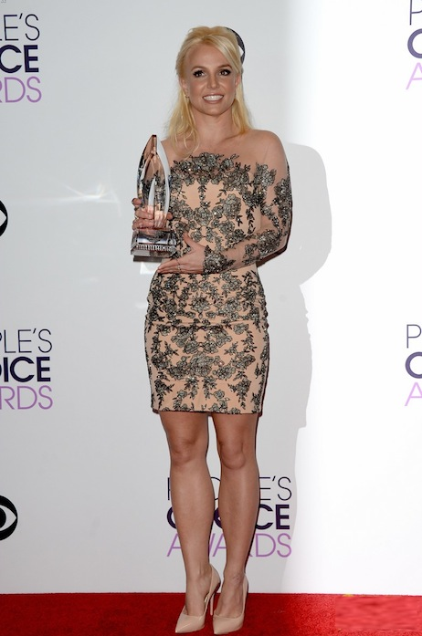 britney spears peoples choice awards 2014 with david lucado 03 Hot Shots:  Britney Spears, Justin Timberlake, Jennifer Hudson & More Shine At 2014 Peoples Choice Awards