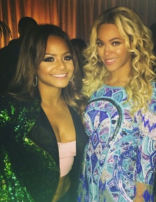 christina milian beyonce thatgrapejuice Christina Milian: Beyonce Is Such An Inspiration