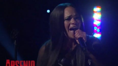 Watch: Faith Evans Performs On 'Arsenio' / Talks Biggie's Death