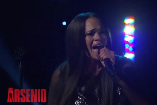 faith evans thatgrapejuice 2014 Watch: Faith Evans Performs On Arsenio / Talks Biggies Death