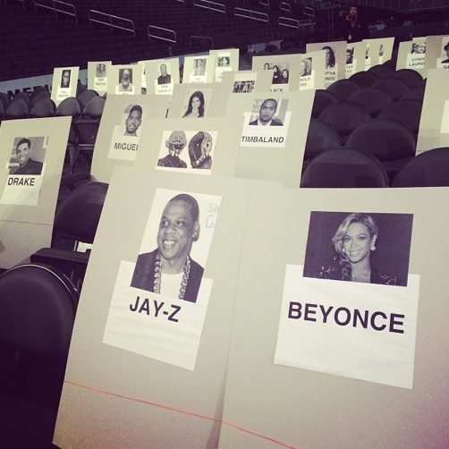 grammy seating 2014 1 Revealed: Where The Stars Are Sitting At The 2014 Grammys