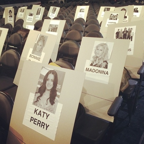 grammy seating 2014 2 Revealed: Where The Stars Are Sitting At The 2014 Grammys