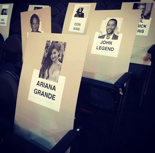 grammy seating 2014 4 Revealed: Where The Stars Are Sitting At The 2014 Grammys