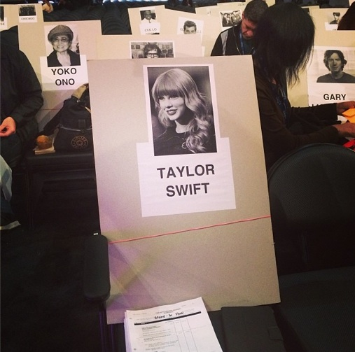 grammy seating 2014 5 Revealed: Where The Stars Are Sitting At The 2014 Grammys