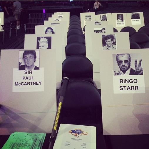 grammy seating 2014 6 Revealed: Where The Stars Are Sitting At The 2014 Grammys