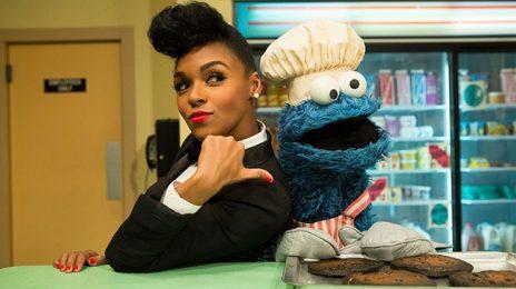 Watch:  Janelle Monae Makes Moves On Sesame Street