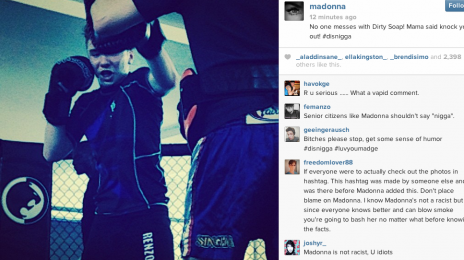 Madonna Sparks 'N Word' Controversy With Instagram Comment