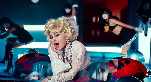 madonna she is diva that grape juice she is diva Report: Madonna Working On New Album?