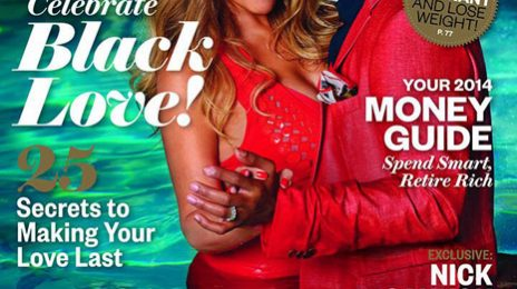 Hot Shot:  Mariah Carey & Nick Cannon Shine Afront 'Ebony' Magazine
