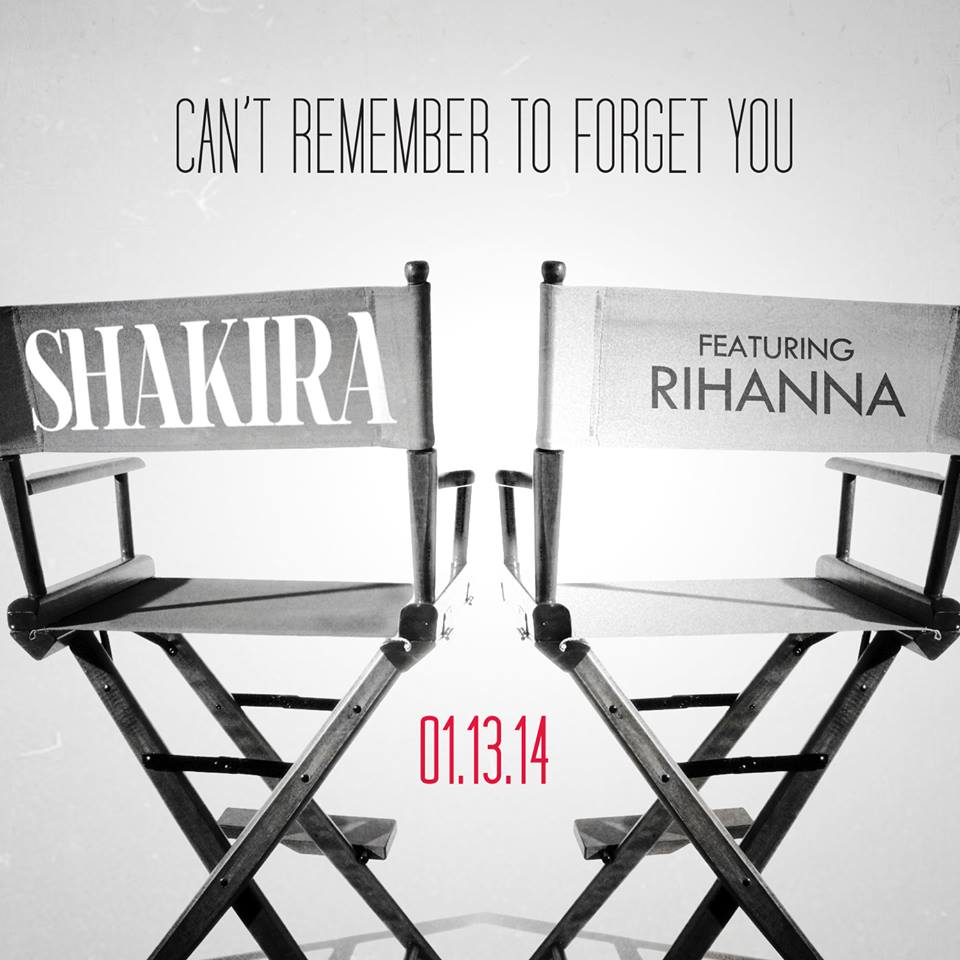 rihanna shakira Official: Shakira Confirms Rihanna Duet Cant Remember To Forget You / Reveals Debut Date