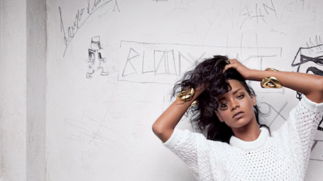 Behind The Scenes: Rihanna 'Ups Her Model' For Balmain