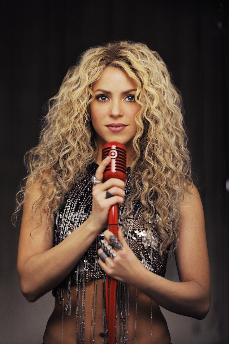Shakira Unwraps Album Cover / Announces Major Target ... Shakira