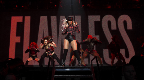 Hot Shots:  Beyonce Beams In Glasgow For World Tour Reboot