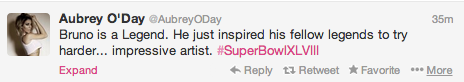 Screen shot 2014 02 02 at 8.00.40 PM Celebrities React To Bruno Mars Show Stopping Super Bowl Half Time Show