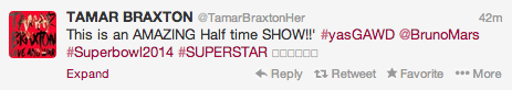 Screen shot 2014 02 02 at 8.02.18 PM Celebrities React To Bruno Mars Show Stopping Super Bowl Half Time Show