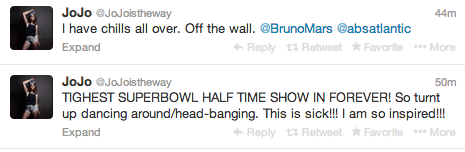 Screen shot 2014 02 02 at 8.11.25 PM Celebrities React To Bruno Mars Show Stopping Super Bowl Half Time Show