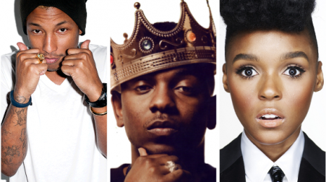 Pharrell Williams, Janelle Monae, & Kendrick Lamar Lead NBA All Star Weekend Performers