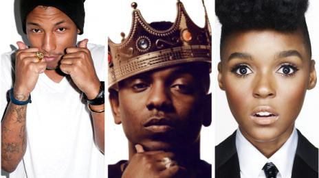 Pharrell Williams, Janelle Monae, & Kendrick Lamar Lead NBA All Star Weekend Performers