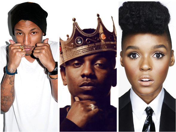 Screen shot 2014 02 06 at 7.41.59 PM Pharrell Williams, Janelle Monae, & Kendrick Lamar Lead NBA All Star Weekend Performers