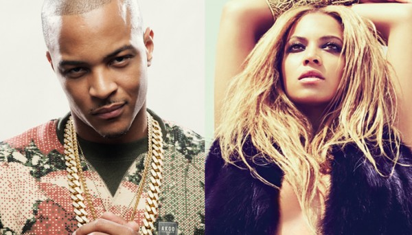TI Beyonce 600x342 New Song: T.I. ft. Beyonce   Drunk In Love Remix