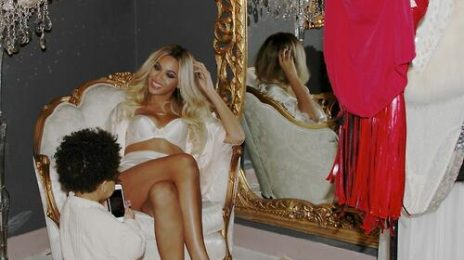Hot Shots: Beyonce Beams With Blue Ivy