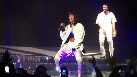 Watch: Drake Surprises Paris With...Rihanna (Performances)